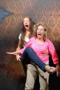 The Nightmares Fear Factory in Niagara Falls, Canada, is famous for capturing hilarious, candid photos of visitors reacting to the terrors lurking within its mysterious halls.