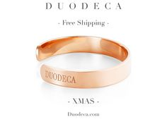Duodeca Classic Bracelet In Rose Gold: £149.99 🔹Get FREE shipping when you order before Christmas!  Use code 'XMAS' on our website!🔹
