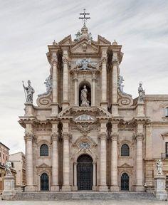 speciesbarocus: Markus Brunetti - Siracusa cathedral, Sicily (2008 - 2014)