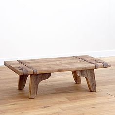 made from reclaimed hardwood salvaged from antique doors from old buildings  World Market