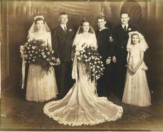 A Vintage wedding photo.