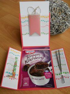 Geburtstagskarte zum Blog-Candy