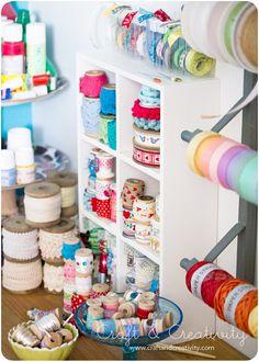 Craft room by Craft & Creativity, via Flickr
