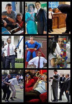 My favorite pictures of Barack Obama. - Imgur