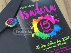 62 Ideas for party neon convite Disco Party, Neon Party, 14th Birthday Cakes, Neon Birthday, Birthday Ideas, Pool Party Themes, Sleepover Birthday Parties, Blacklight Party, Skate Party
