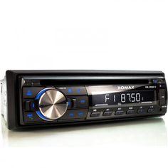 XOMAX XM-CDB612 USB und CD Autoradio mit Bluetooth 1DIN Autoradios CD/DVD-Receiver