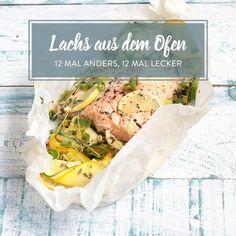 Lachs auf Zucchinibett im Aromapäckchen
