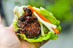 daeji bulgogi- would do on indoor grillpan next time to prevent deliciousness falling through cracks. I use the quick pickled daikon and carrot from nytimes. Marinated Pork, Grilled Pork, Pork Recipes, Asian Recipes, Asian Foods, Grilling Recipes, Serious Eats, Spicy, Gourmet