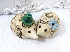 Hedgehog cake topper Wedding cake topper Custom pair by orlydesign, $47.00