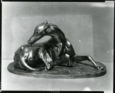 Echo Licking [sculpture] / (photographed by Peter A. Juley & Son)