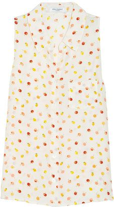 e387c822e3 Equipment Mina fruit print washed silk blouse Equipment Designer Clothes  Sale