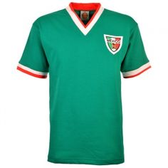 82fc9602c09 Mexico 1960-1970s Retro Football Shirt Retro Football Shirts