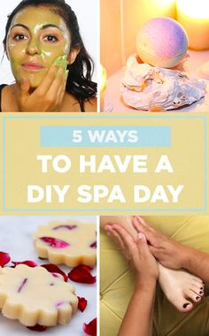 Treat yourself to a glass of wine and a DIY spa day because YOU DESERVE IT !