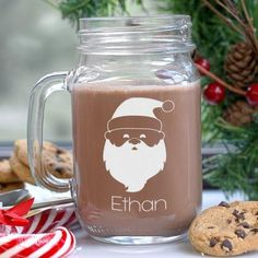Christmas time is the perfect time to party with a mason jar in drinking eggnog, beer, and all joyous drinks.