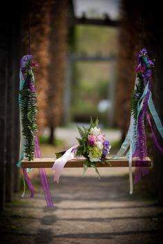 Be prepared to be whisked into an enchanted fairytale that's one part sweet and one part wicked. The story starts out with a bride and groom surrounded by lush Lavender Wedding Theme, Purple Wedding, Summer Wedding, Wedding Colors, Wedding Ideas, Lilac, Pink, Forest Wedding, Light Purple