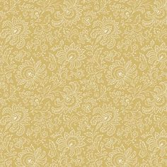 Golden Paisley from the French Chateau Collection by Renee Nanneman for Andover Fabrics Andover Fabrics, Thing 1, French Chateau, Fat Quarters, Quilting Designs, Fabric Design, Paisley, The Unit, Colours