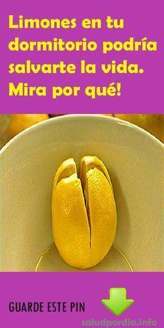 Limones en tu dormitorio podría salvarte la vida. Mira por qué! #Limones #dormitorio #vida #salud