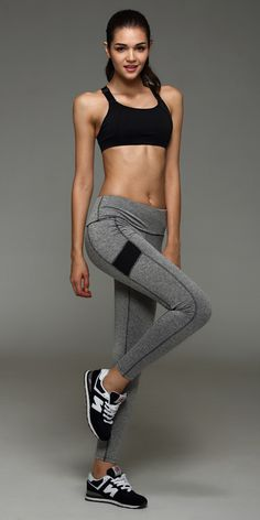 41402eee7d7 2016 Autumn of the New Stretch Workout Leggings Tight Yoga Jogging Fitness  Speed Dry Exercise Pants