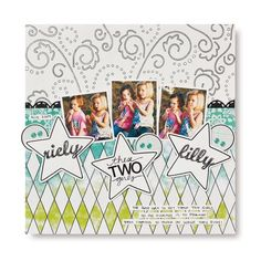 These Two Girls Doodling Scrapbooking Layout Idea from Creative Memories Project Center, Detailed Instructions: http://projectcenter.creativememories.com/photos/enchanted_power_palette_p/these-two-girls-doodling-scrapbooking-layout-idea.html  #scrapbooking   $16.50