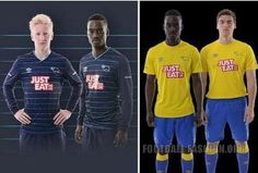 Derby County FC 2014/15 Away and Third Kits