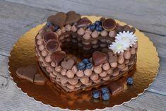Čokoládová torta v tvare srdca, recept, Torty | Tortyodmamy.sk