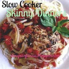 Fitness & Health: Skinny Dinners - Slow Cooker Balsamic Chicken
