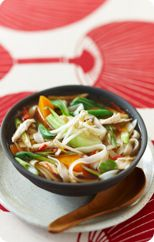 Loaded with healthy vegies, this light and flavoursome soup will warm you up without weighing you down. Healthy Cooking, Healthy Eating, Healthy Foods, Asian Chicken Noodle Soup, Soup Recipes, Chicken Recipes, Heart Healthy Recipes, Healthy Heart, Asian Recipes