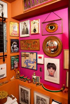 Home Decoration Living Room Quirky Home Decor, Eclectic Decor, Diy Home Decor, Room Decor, Peggy Moffitt, Deco Paris, Home Design, Colorful Interiors, House Colors