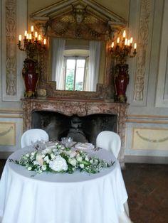 Fiori tavolo sposi