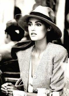 Yasmin Le Bon by Peter Lindbergh, Vogue 1987