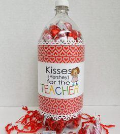 teacher gifts, craft, soda bottles, valentine day, teacher appreciation gifts, appreci soda, bottl gift, appreci gift, valentin teacher