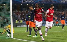 Read a full match report of the Champions League Group B match between Montpellier and Arsenal at Stade de la Mosson on Tuesday Sept 18 Full Match, Great Team, Arsenal Fc, Uefa Champions League, Montpellier, Soccer, Football, Running, Sports