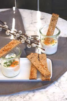 Eier im Glas aus dem Varoma - perfekt für den Osterbrunch [Thermomix-Rezept]