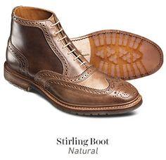 Allen Edmonds New Stirling Boot in Natural