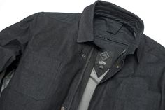 Another awesome jacket from Crave, this is the Motorcycle Denim Jacket with  100% black 784c53e5671f