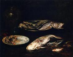 Still LIfe Fish - William Merritt Chase - The Athenaeum