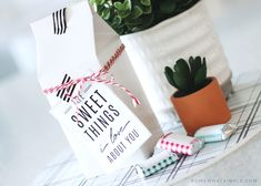 This chocolate Reasons Why I Love You gift idea is a creative way to tell someone all the things you love about them!