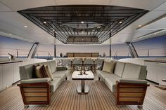 superyacht of the week: lürssen's vive la vie - daily photo, Innenarchitektur ideen