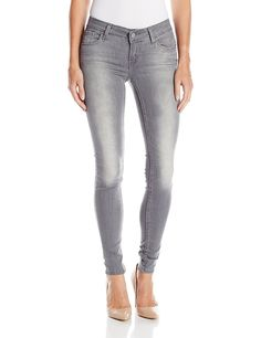 Levi's Women's 535 Super Skinny Jean, Tossed Smoke, 30W X 30L >>> Want additional info? Click on the image.