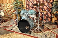 '79 blue oyster Ludwig