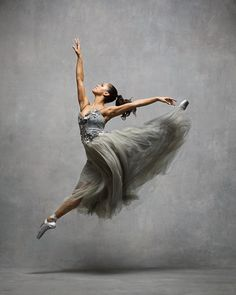 Misty Copeland by NYC Dance Project | Misty Copeland, Principal, American Ballet Theatre. Dress by Trash-Couture.