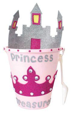 Nicole™ Crafts Princess Bucket #kids #craft