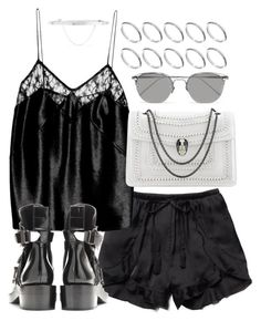 """""""Untitled #20050"""" by florencia95 ❤ liked on Polyvore featuring Free People, Fleur du Mal, Linda Farrow, Eddie Borgo and ASOS"""