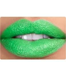 Hmmm not sure about this colour?? #green #lipstick #beauty