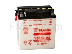 Batteria Yuasa YB10L-A2, 12 Volt - 11 Ah, ricambio 0651134