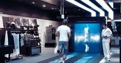 Adidas' new mi Innovation Center, an interactive retail space in Paris designed by Hamburg's Mutabor Design.