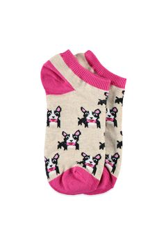 Bowtie Puppy Ankle Socks | Forever 21 - 2000114025