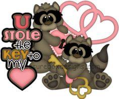 U Stole the Key to my Heart - Treasure Box Designs Patterns & Cutting Files (SVG,WPC,GSD,DXF,AI,JPEG)