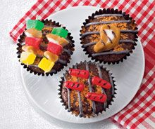 Father's Day Recipes Grill Cupcakes  (Also Great as Sugar Cookies)