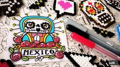 Day of the Dead Drawings - How To Draw Cute Holy Death by Garbi KW